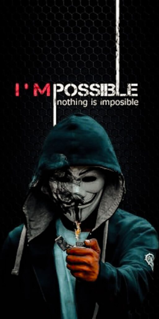 Anonymous iPhone 12 Wallpaper