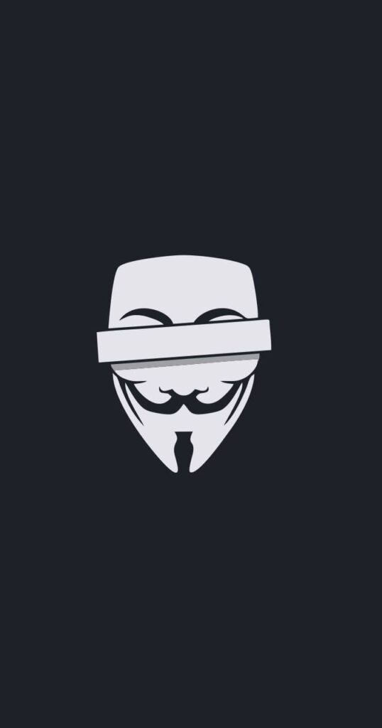 Anonymous iPhone 6 Wallpaper