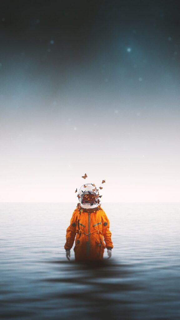 Astronaut Android Wallpaper
