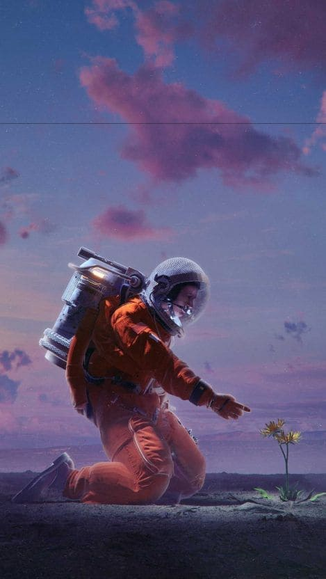 Astronaut Android Wallpaper (7)