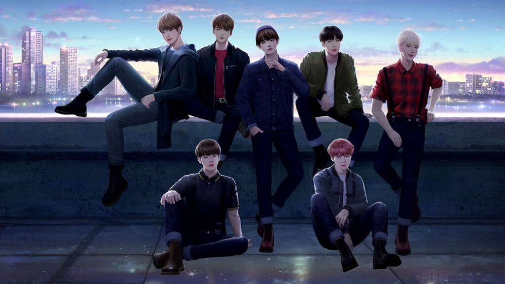 BTS Background For PC