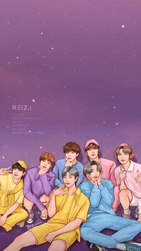 BTS Background For Phone