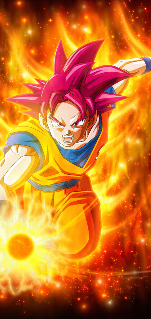Goku Mobile Background Pictures