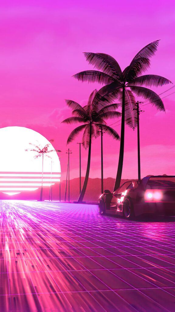 Synthwave Wallpaper HD