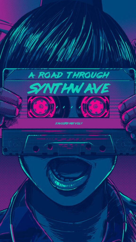 Synthwave Wallpaper iPhone 11