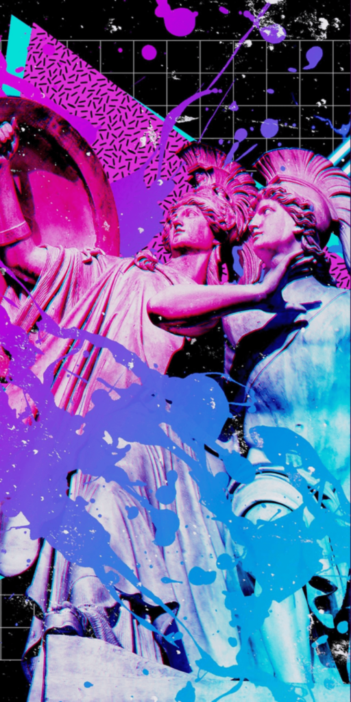 Synthwave Wallpaper iPhone 6